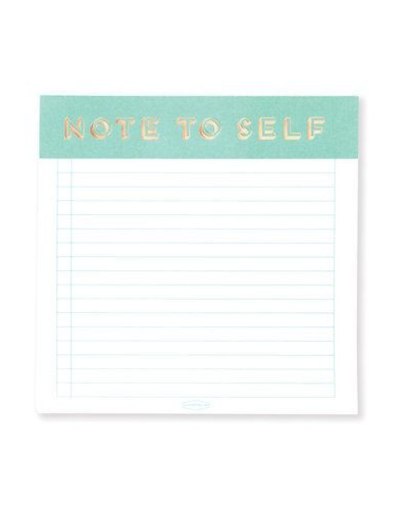 Note to Self Square Notepad