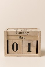 Wooden Perpetual Calendar