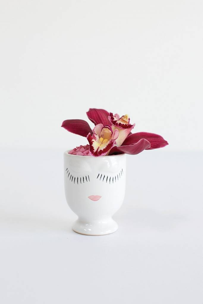 Celfie Vase - Mini - White