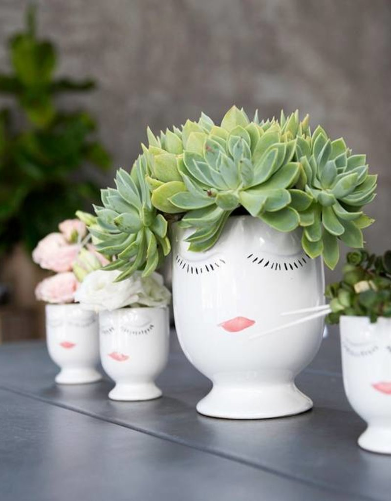 Celfie Vase - Mini - White