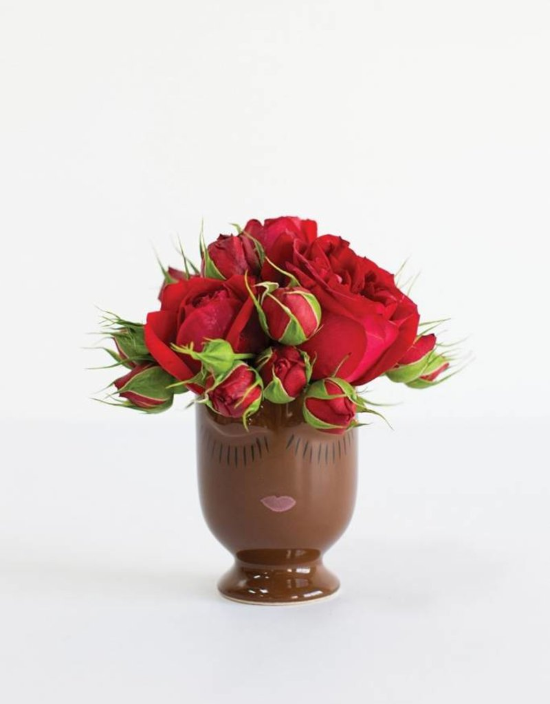 Celfie Vase - Mini - Chocolate