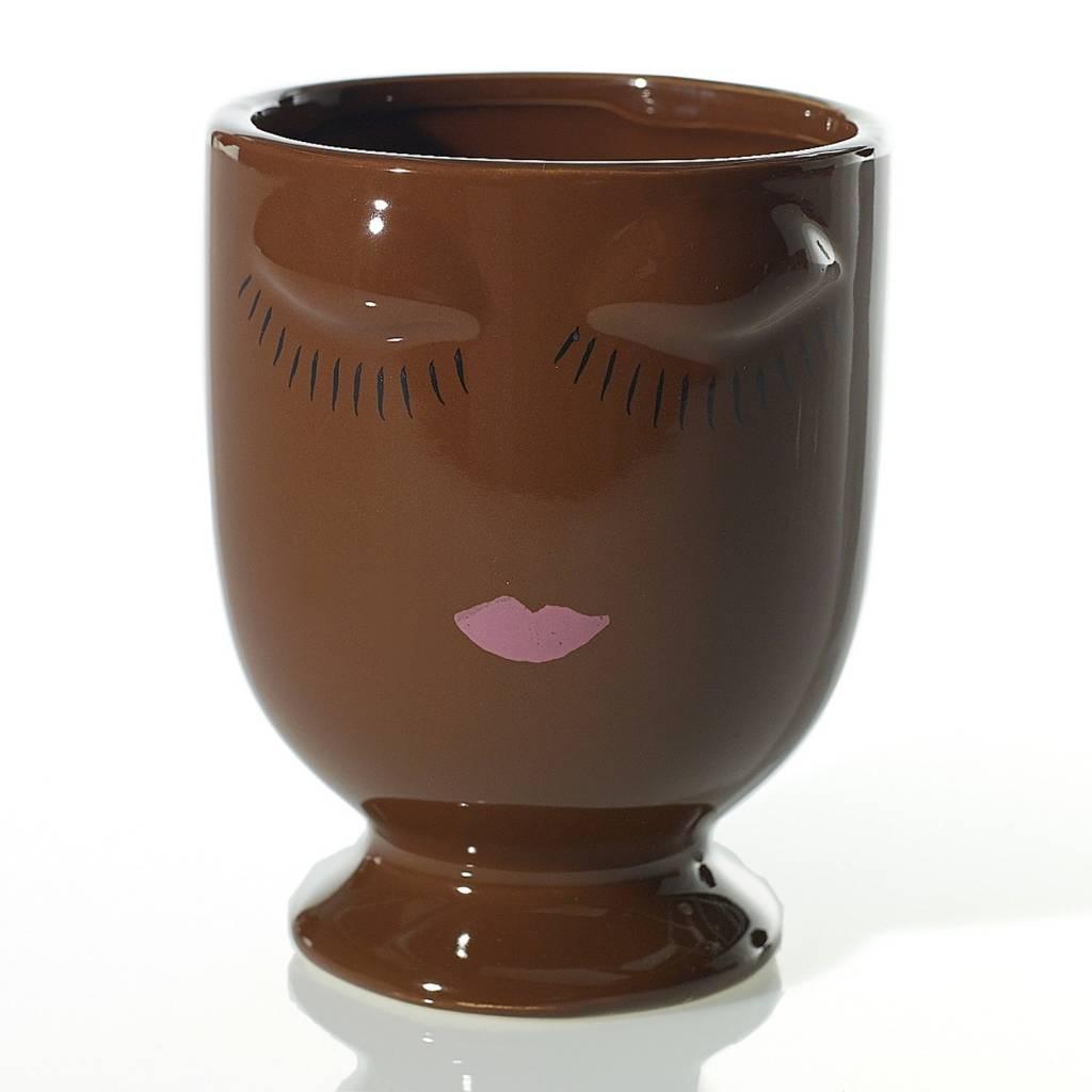 Celfie Vase - Chocolate