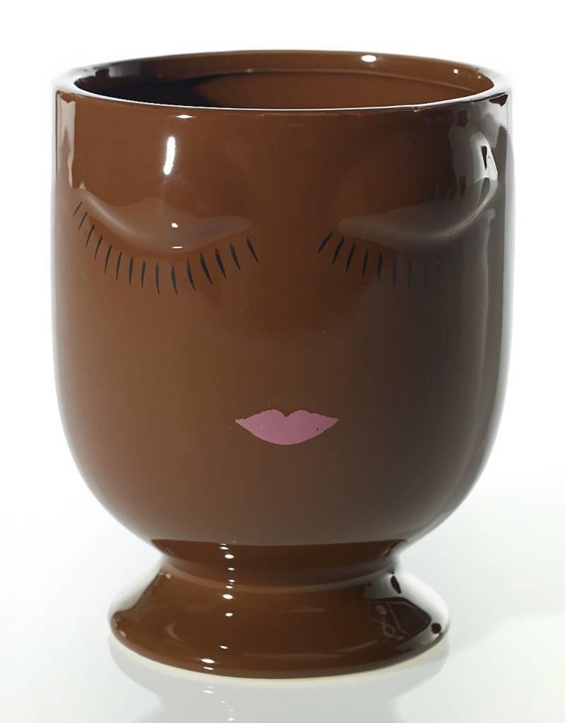 Celfie Vase - Large - Chocolate