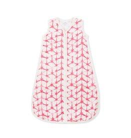 Berry Shibori Silky Soft Sleeping Bag - Medium