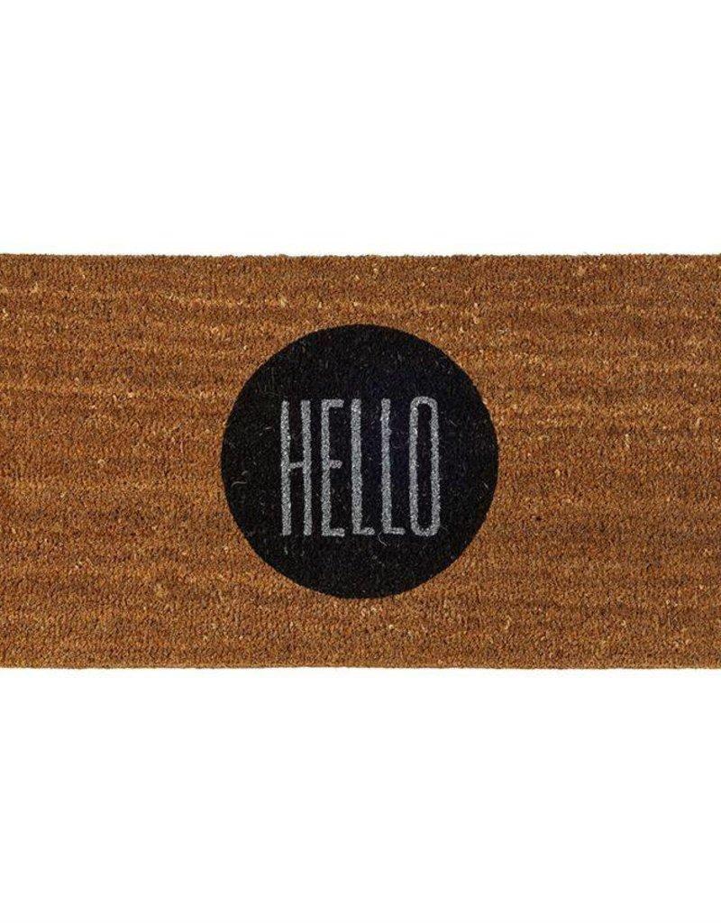 Hello Door Mat
