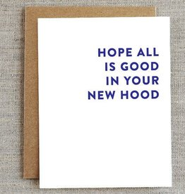 New Hood Card