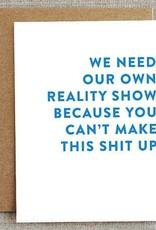 Reality Show Card