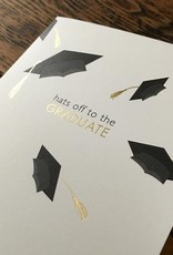 Hats Off to the Graduate Card