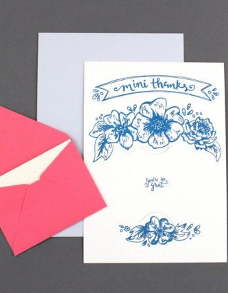Mini Thanks Gift Card Holder