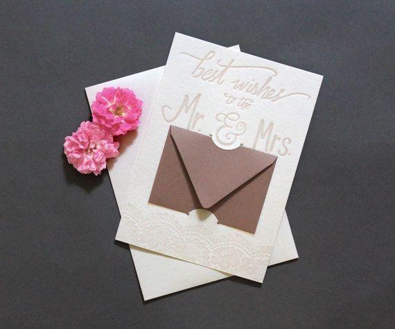 Mr. and Mrs. Gift Card Holder