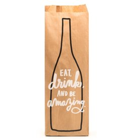 Eat, Drink, Be Amazing Bottle Bag