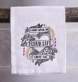 Scrub Life Tea Towel