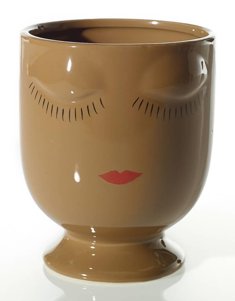 Celfie Vase - Large - Caramel