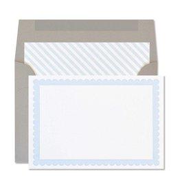 Cloud Scallop Notecards