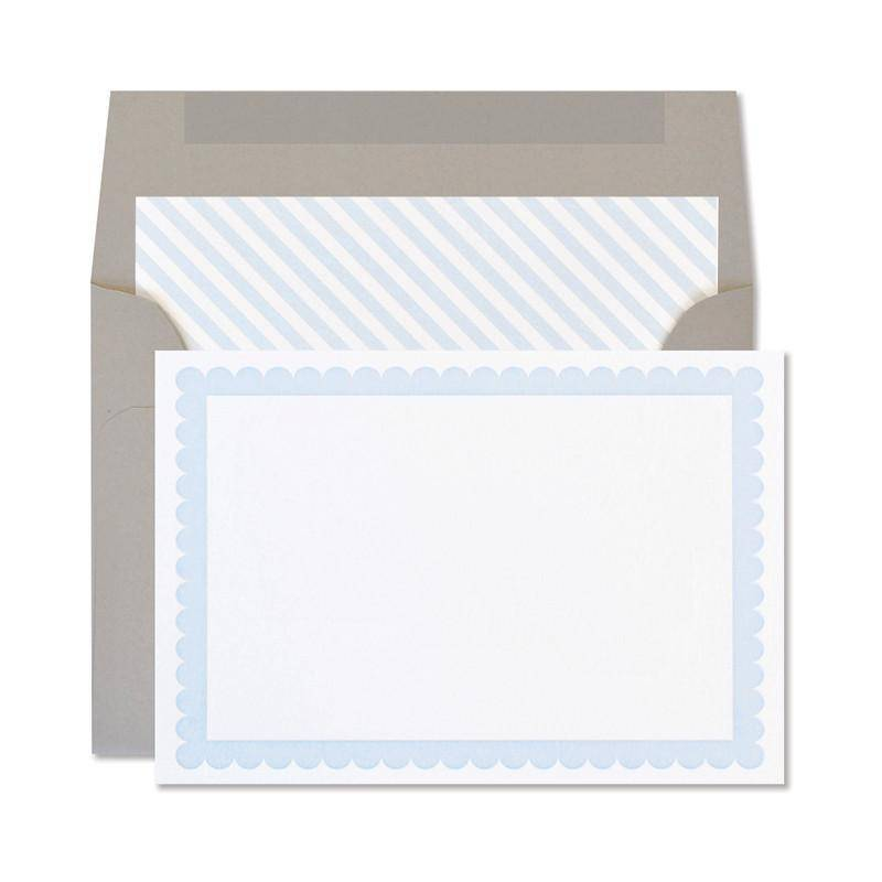 Cloud Scallop Notecards