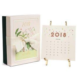 2018 Gold Desk Calendar