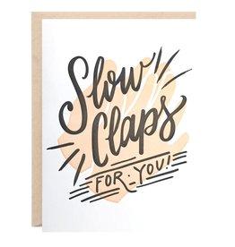 Slow Claps Card