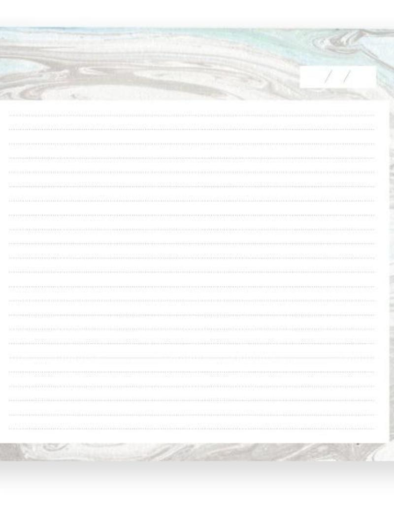 Marble Lined Notepad