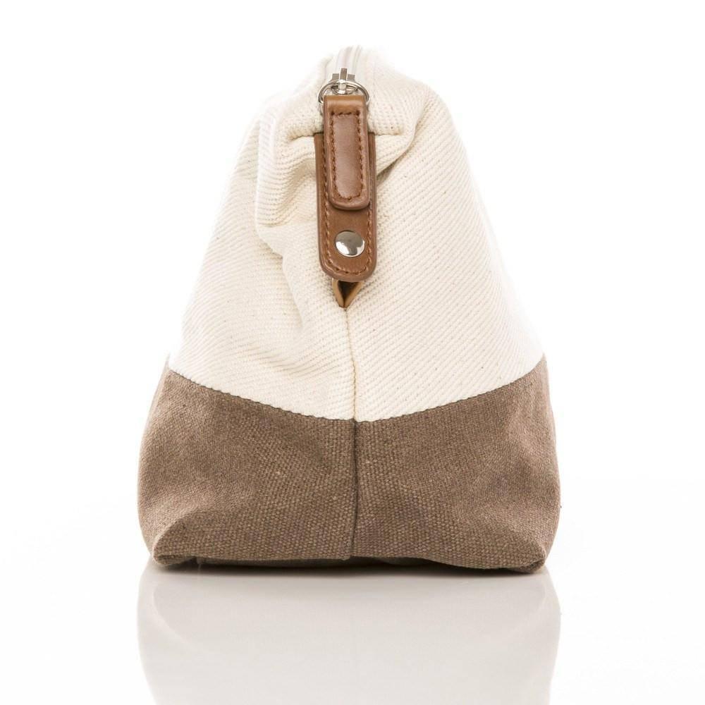 Original Toiletry Bag - Cream & Brown