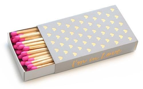 I'm In Love Matchbox