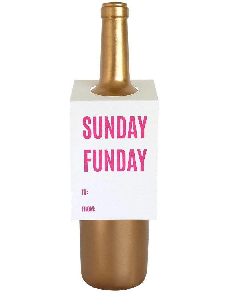 Sunday Funday Wine Tag - Single