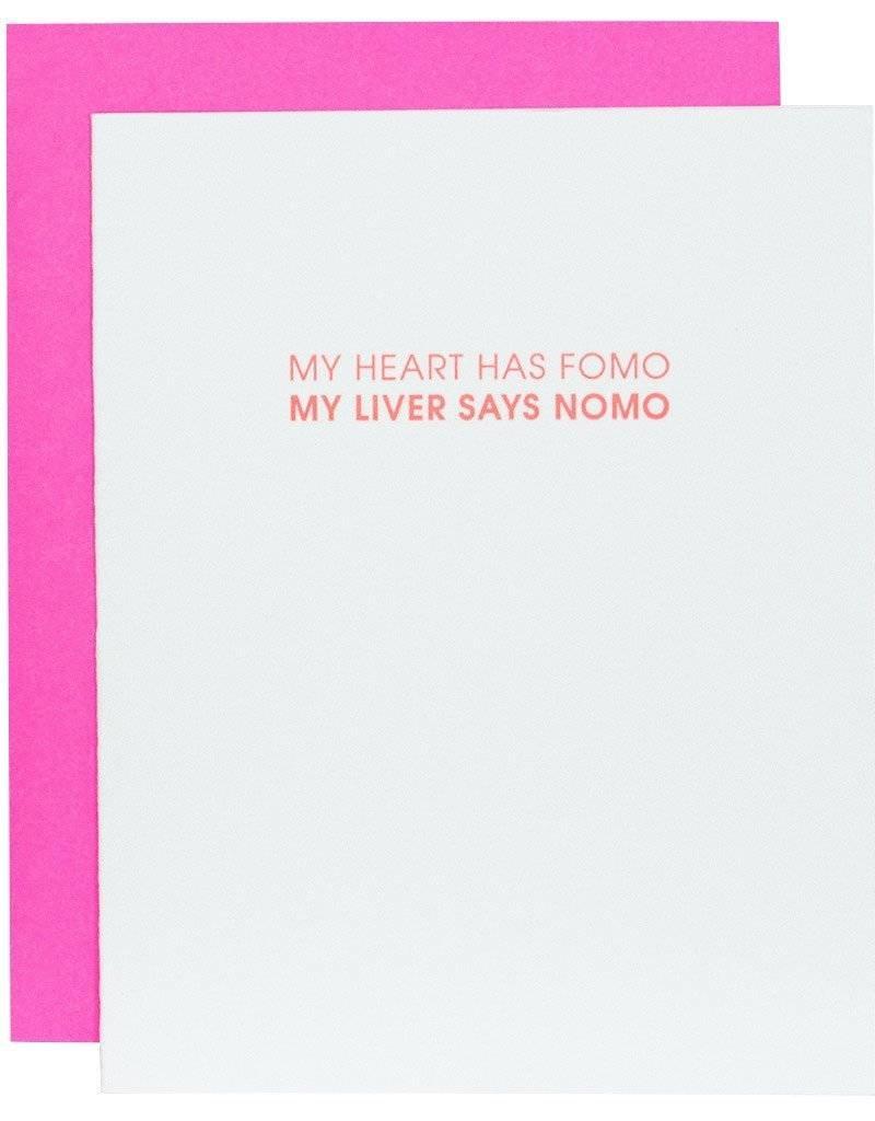 Heart Has FOMO Card