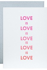 Love is Love Card