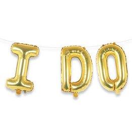 I Do Gold Balloon Kit