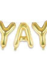 Yay Gold Balloon Kit