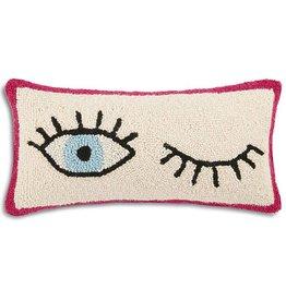 Wink Wink Pillow - 9x18