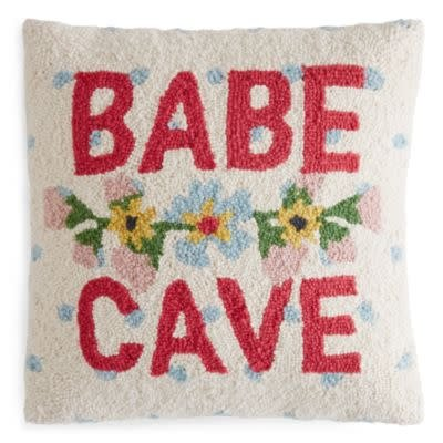 Babe Cave Pillow - 16x16