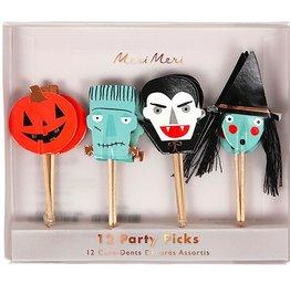 Halloween Party Picks - Set of 12