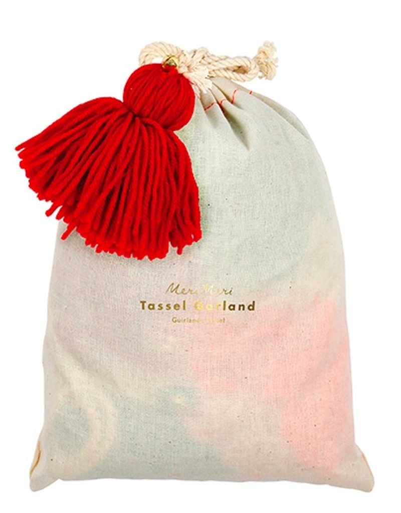 Wool Tassel Garland