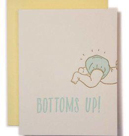 Bottoms Up Baby Card