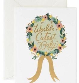 World's Cutest Baby Card