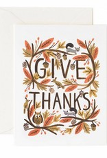 Thankful Forest Cards - Boxed Set of 8