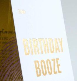 Birthday Booze Wine Tags - Set of 3