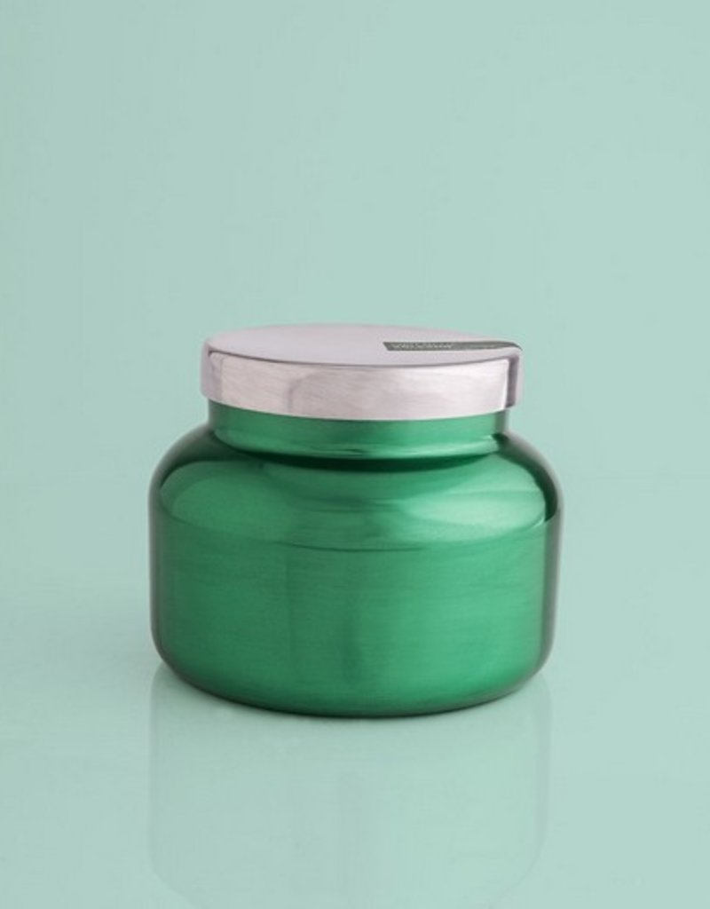 Volcano Green Metallic Petite Jar