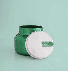 Volcano Metallic Green Jar - 19 oz.
