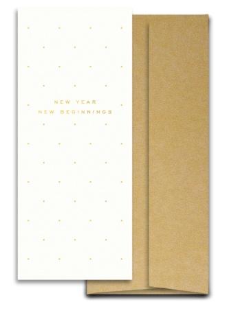 New Year New Beginning Card