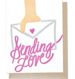 Thimblepress Sending Love Card