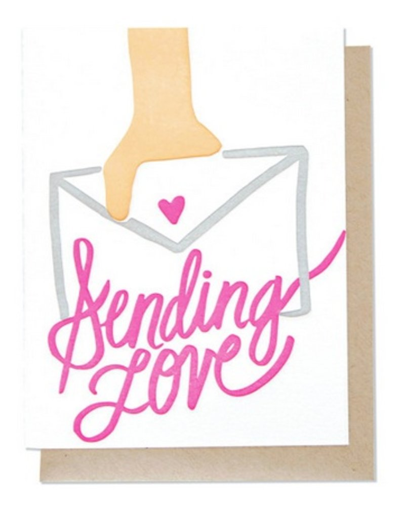 Thimblepress Sending Love Card