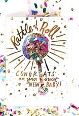 Thimblepress Rattle & Roll Confetti Card