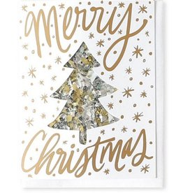 Thimblepress Merry Christmas Confetti Card