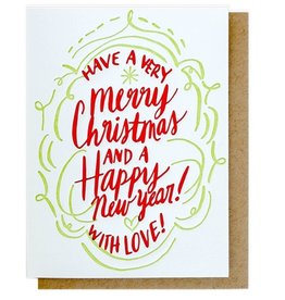 Thimblepress Christmas With Love Boxed Cards