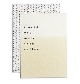 More Than Coffee Card
