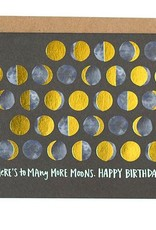 OneCanoeTwo Many Moons Birthday Card