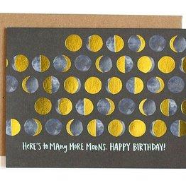 OneCanoeTwo Many Moons Birthday Card