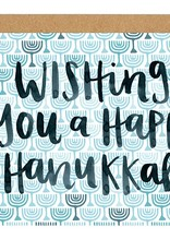 OneCanoeTwo Hanukkah Wishes Card