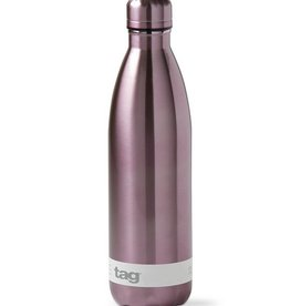 25 oz. Metallic Stainless Steel Bottle - Plum